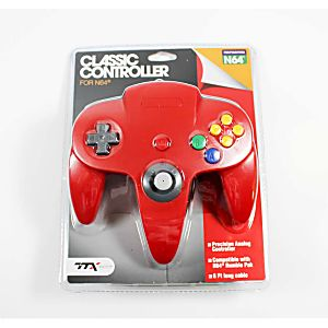 NEW Nintendo 64 N64 Red Controller
