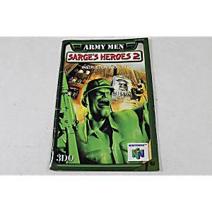 MANUAL - Army Men Sarge's Heroes 2