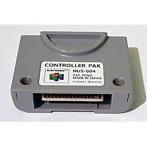 Original N64 Memory Card