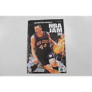 Manual - Nba Jam 99 - Nintendo N64