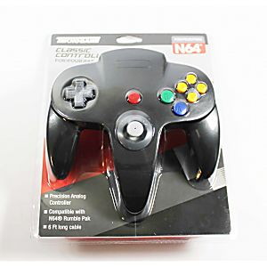 NEW Nintendo 64 N64 Black Controller