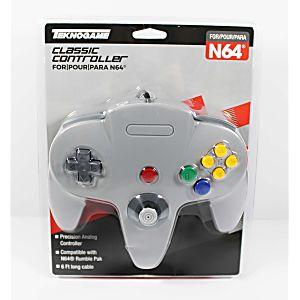 NEW Nintendo 64 N64 Gray Controller