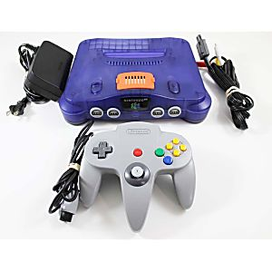 Nintendo 64 N64 Grape System with Controller