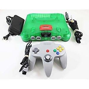 Nintendo 64 Jungle Green Console W/ Expansion Pak