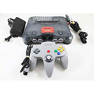 Nintendo 64 Smoke Gray Console W/ Expansion Pak