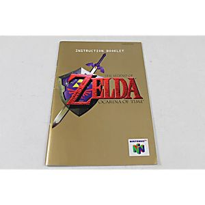 MANUAL - THE LEGEND OF ZELDA OCARINA OF TIME - NINTENDO N64