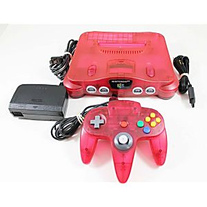 Watermelon Red Nintendo 64 System