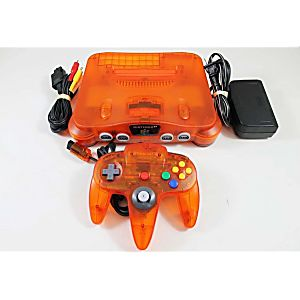 Fire Orange Nintendo 64 System