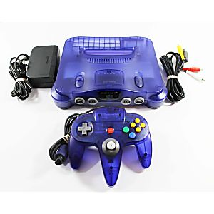 Grape Purple Nintendo 64 System