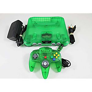 Jungle Green Nintendo 64 System