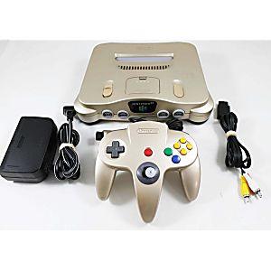Rare Gold Nintendo 64 System