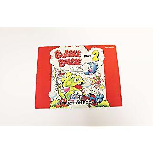 Manual - Bubble Bobble Part 2 - Ultra Rare Nes Nintendo