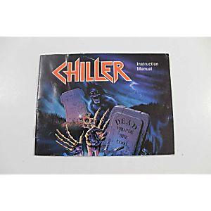 Manual - Chiller - Very Rare Nes Nintendo