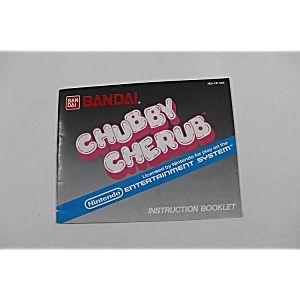 Manual - Chubby Cherub - Rare Nes Nintendo