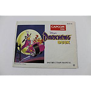 Manual - Disney's Darkwing Duck - Nes Nintendo
