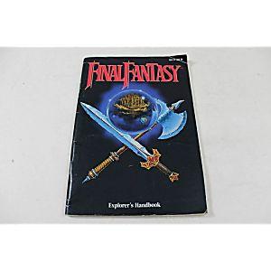 MANUAL - FINAL FANTASY- Classic Original NES Nintendo RPG