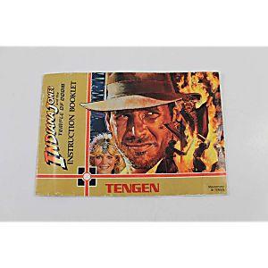 Manual - Indiana Jones And The Temple Of Doom (BIG MANUAL)- Nes Nintendo