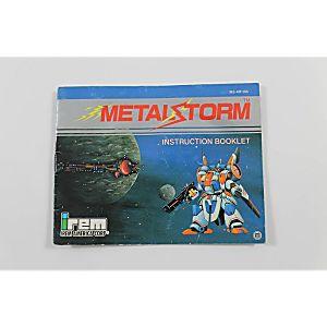 Manual - Metal Storm - Nes Nintendo