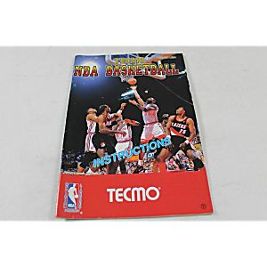 MANUAL - TECMO NBA BASKETBALL- NES Nintendo