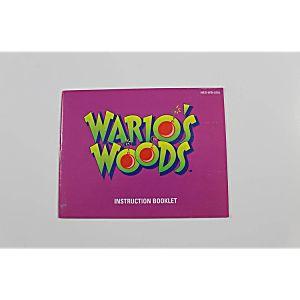 Manual - Wario's Woods - Wario Nes Nintendo