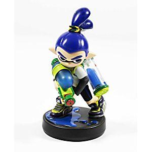 Inkling Boy Blue (Splatoon) Amiibo