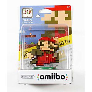Mario Classic Color 30th Anniversary Figure in box