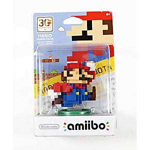 Mario Modern Color 30th Anniversary Figure in box