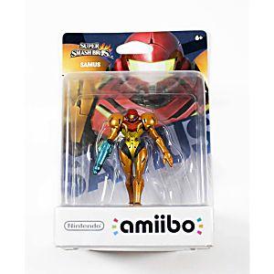 Super Smash Bros. - Samus Figure in box