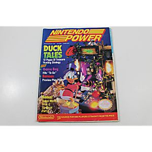 Nintendo Power: Duck Tales Sept/Oct 1989