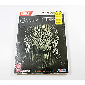 Game of Thrones Official Game Guide (Prima Games)