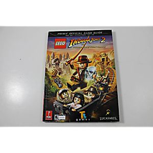 LEGO Indiana Jones 2: The Adventure Continues Official Game Guide (Prima Games)