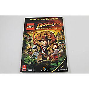 Lego Indiana Jones: the Original Adventures Official Game Guide (Prima Games)
