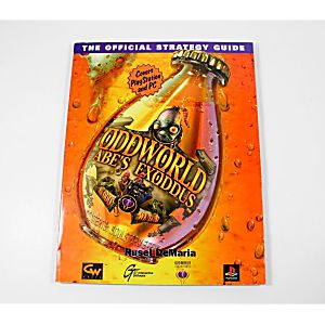Oddworld: Abe's Exiddus - Exclusive Strategy Guide (GW)
