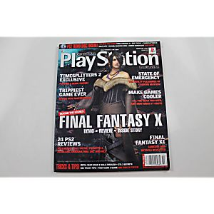 Official Playstation Magazine February 2002 Issue 53 Final Fantasy X