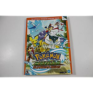 Pokemon Ranger: Guardian Signs Official Strategy Guide