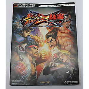 STREET FIGHTER X TEKKEN SIGNATURE SERIES GUIDE (BRADY GAMES)