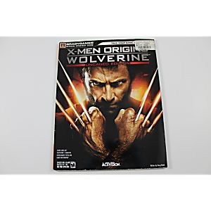 X-Men Origins: Wolverine-Uncaged Edition Official Strategy Guide (Brady Games)