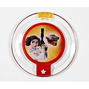 Disney Infinity Princess Leia Boushh Disguise Power Disc 3000228