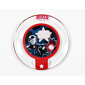 Disney Infinity Team Up Iron Patriot Power Disc 3000177 - Edition 2.0