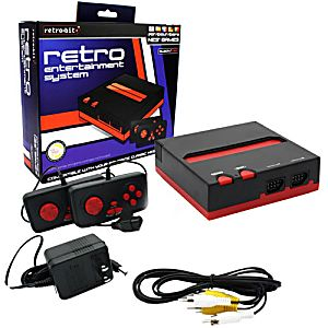New Retro NES System in Box - Plays NES games!