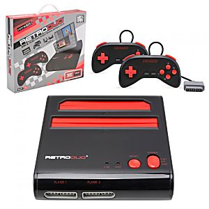 New Red Retro Duo System - Plays NES and SNES