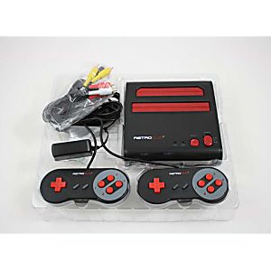 New Red Retro Duo System - Plays NES and SNES Games!