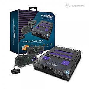 RetroN 2 HD Console NES / SNES - Black