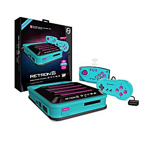 RetroN 5 Gaming Console - Limited Edition Hyper Beach