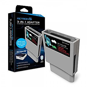 Retron5 3-in-1 Adapter for SGG and SMS