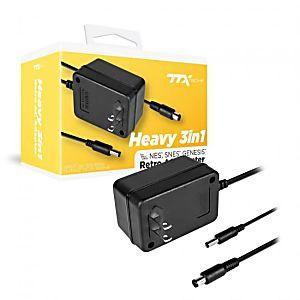 Heavy Duty 3-in-1 AC Adapter - SNES / NES / Genesis