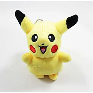Plush Pikachu Key Chain