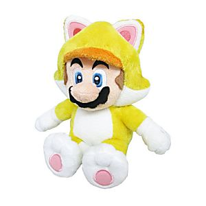 """10"""" Plush New Cat Mario"""