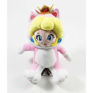 "10"" Plush New Cat Princess Peach"