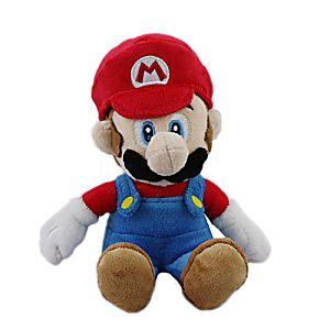 """8"""" Plush Mario"""